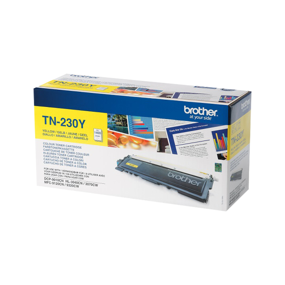 Remanufactured Brother TN230Y Yellow Toner TN230Y - rem01