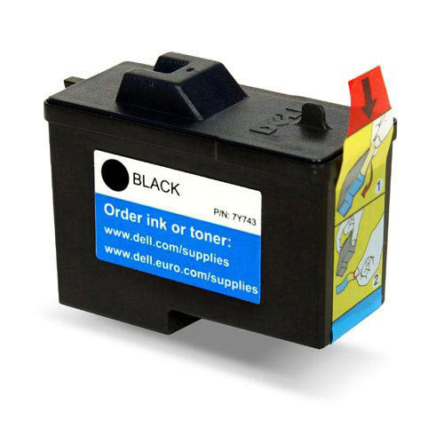 Remanufactured Dell 592-10043 (7Y743) Black Ink Cartridge 592-10043 - rem01