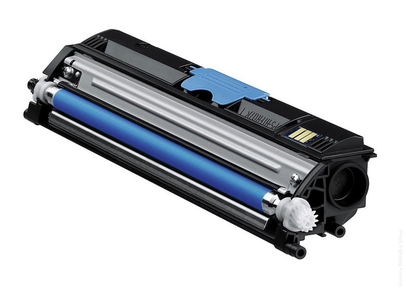 Remanufactured QMS A0V30HH Toner Cartridge Cyan 2.5k A0V30HH - rem01
