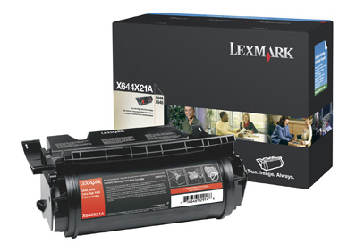 Remanufactured Lexmark X644X21E Toner Cartridge Black 30K X644X21E - rem01