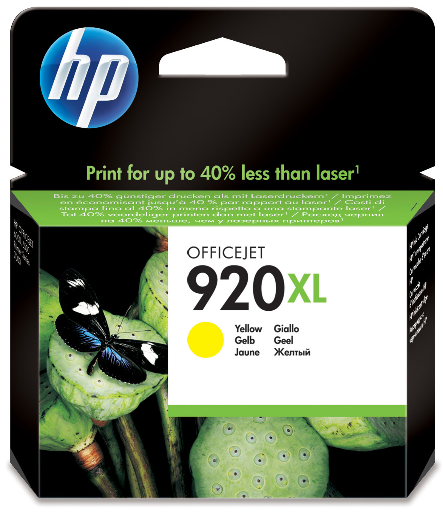 Compatible HP CD974AE (920XL) Yellow Ink Cartridge CD974AE - rem01