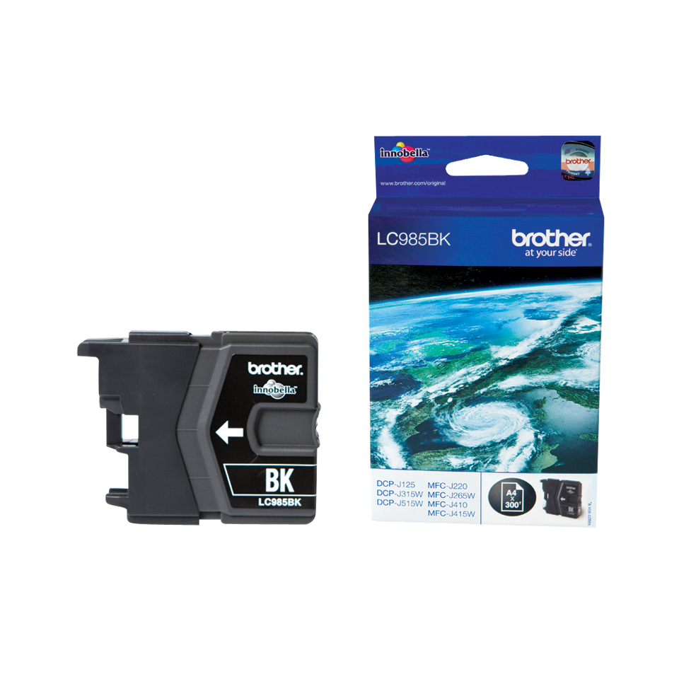 Compatible Brother (LC985BK) Black Ink Cartridge LC985BK - rem01