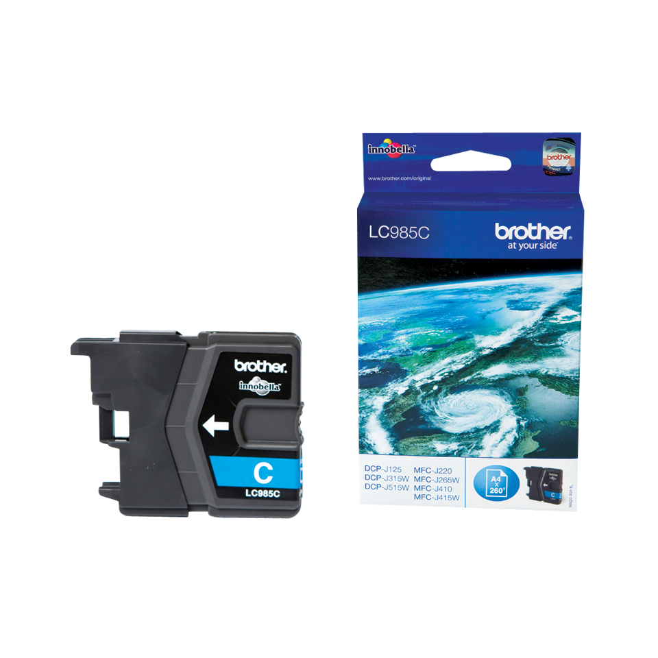 Compatible Brother (LC985C) Cyan Ink Cartridge LC985C - rem01