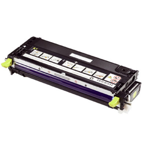 Remanufactured Dell 593-10291 Toner Cart Yellow 9k 593-10291 - rem01