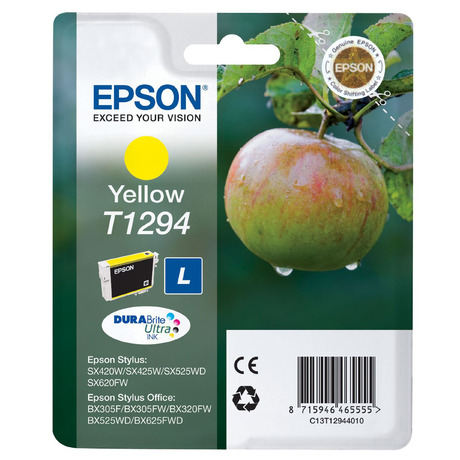 BB Compat Epson C13T12944010 (T1294) Yellow Cart C13T12944010 - rem01