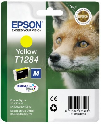 BB Compat Epson C13T12844010 (T1284) Yellow Cart C13T12844010 - rem01