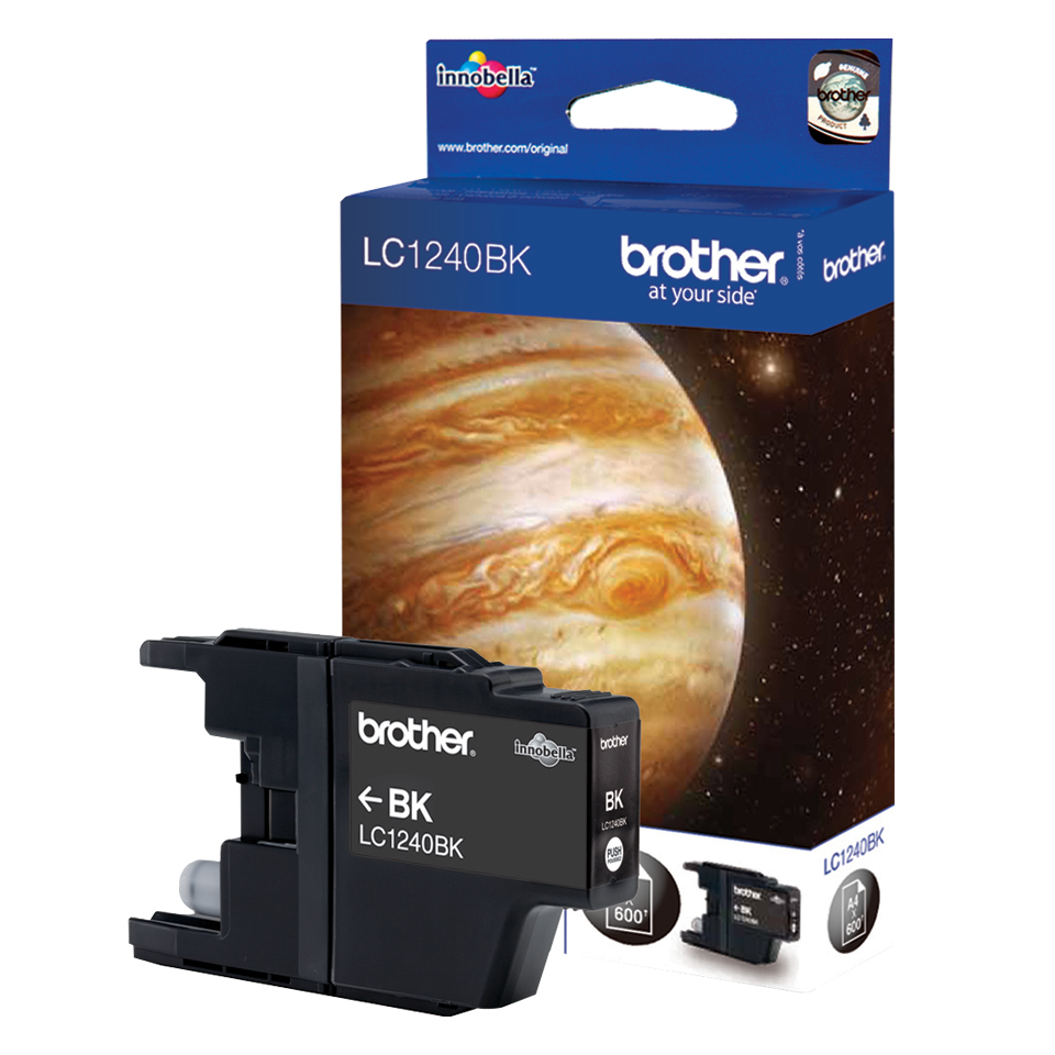 Compatible Brother LC1240BK (LC1240) Black Inkjet Cartridge LC1240BK - rem01