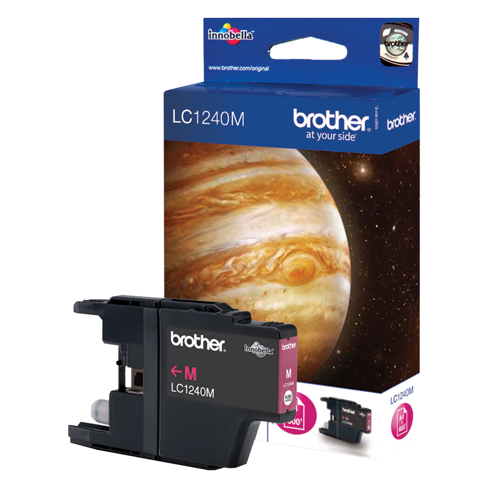 Compatible Brother LC1240M (LC1240) Magenta Inkjet Cartridge LC1240M - rem01