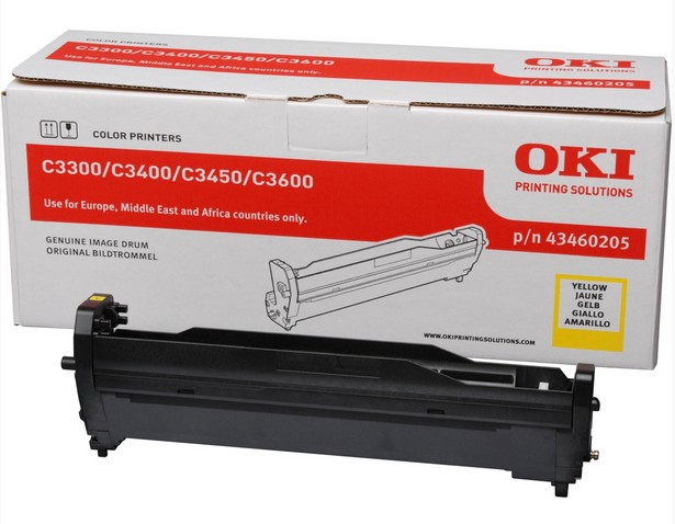 Remanufactured Oki 43460205 Yellow Drum Unit 15k 43460205 - rem01
