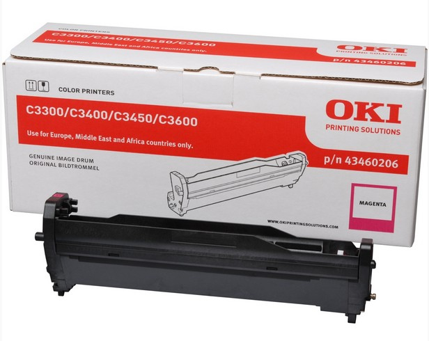 Remanufactured Oki 43460206 Magenta Drum Unit 15k 43460206 - rem01