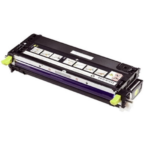 Remanufactured Dell 593-10295 Yellow Toner Cart 3k 593-10295 - rem01