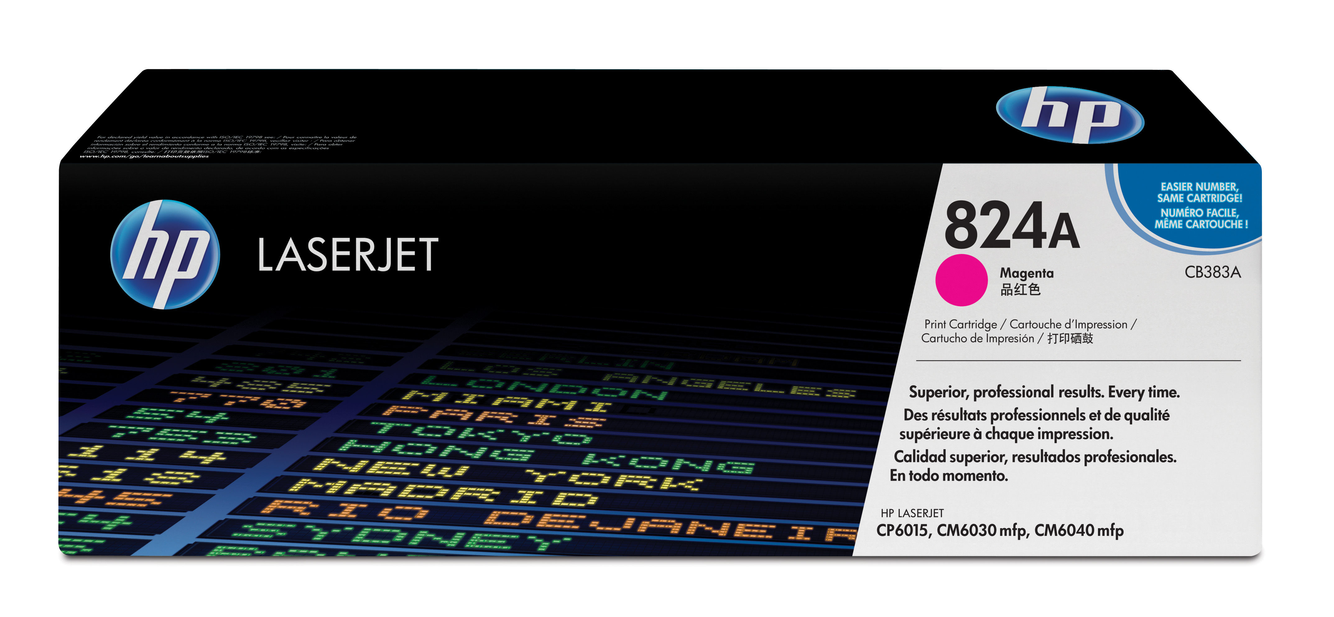 Remanufactured HP CB383A Magenta Toner Cart 21k CB383A - rem01