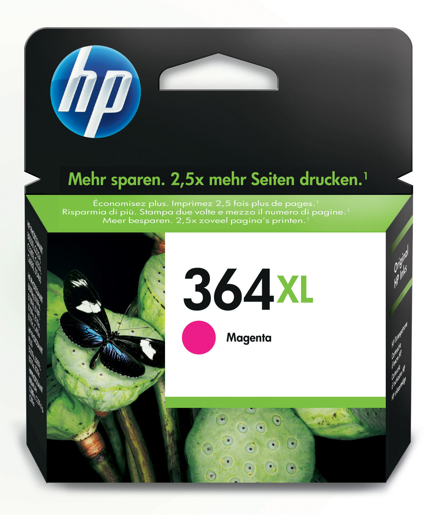 BB Reman HP CB324EE (364XL) Magenta Ink Cartridge CB324EE - rem01