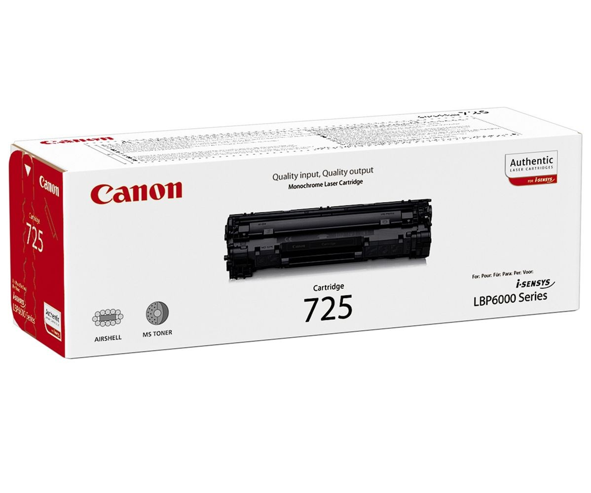 Remanufactured Canon 3484B002AA (725) Black Toner 3484B002 - rem01