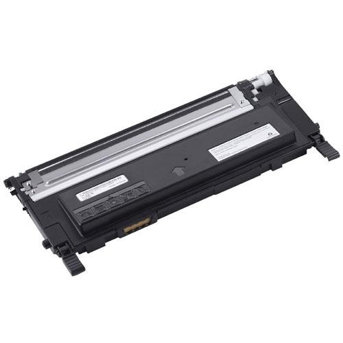 Remanufactured Dell 1235CN Black Toner Cart 1.5k 593-10493 - rem01