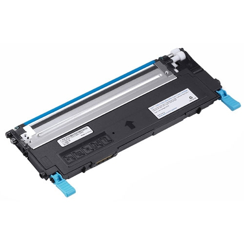 Remanufactured Dell 1235CN Cyan Toner Cart 1k 593-10494 - rem01