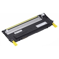 Remanufactured Dell 1235CN Yellow Toner Cart 1k 593-10496 - rem01