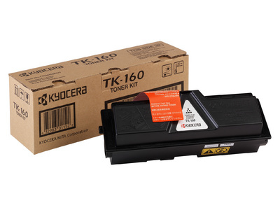 Remanufactured Kyocera TK160 Black Toner Cart 2.5k TK-160 - rem01