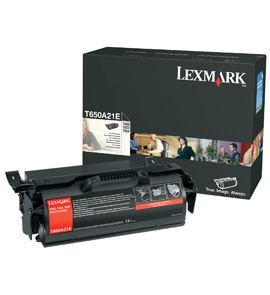 Remanufactured Lexmark T650 Black Toner Cart 7k 0T650A21E - rem01