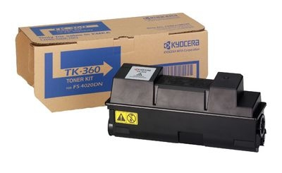 Remanufactured Kyocera TK-360 Black Toner TK-360 - rem01