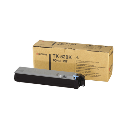 Remanufactured Kyocera TK-520K (TK-520) Black Toner TK520K - rem01