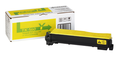 Remanufactured Kyocera TK-560Y (TK-560) Yellow Toner TK560Y - rem01