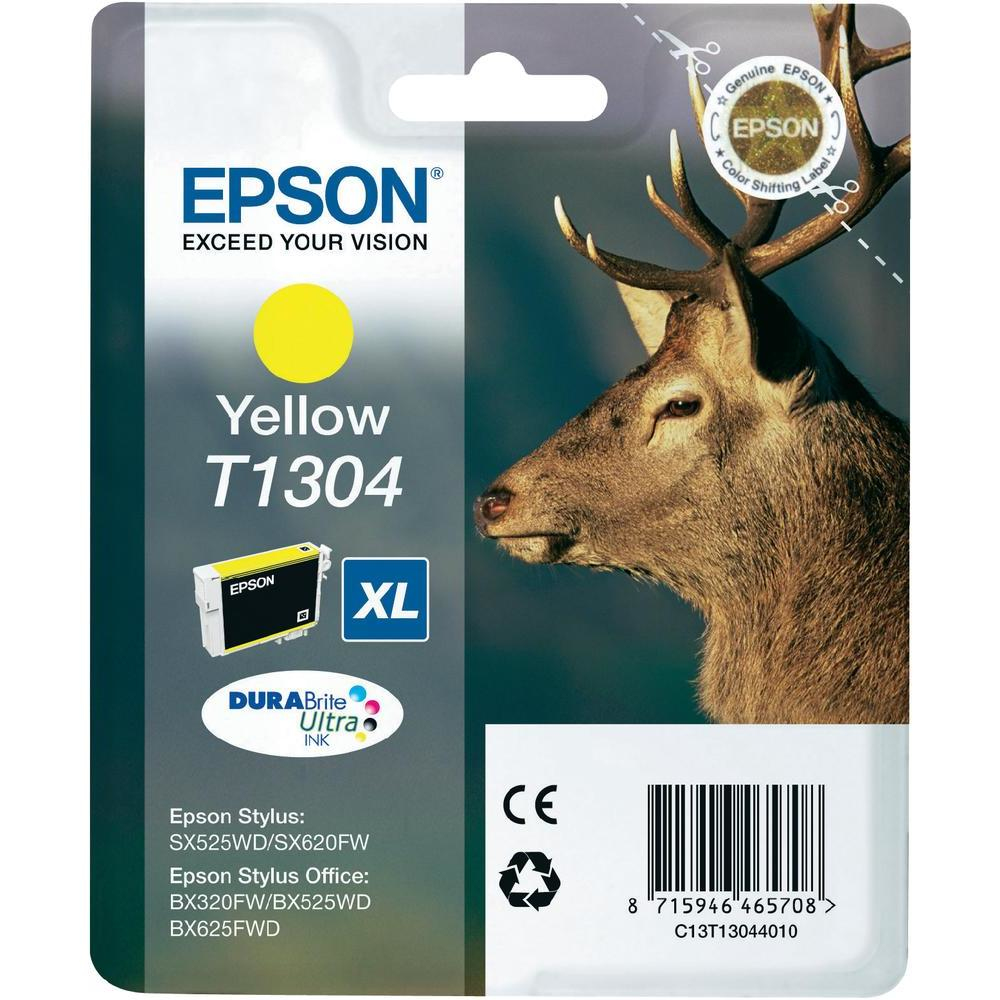Blue Box Compatible Epson C13T13044010 (T1304) Yellow Inkjet Cartridge C13T13044010 - rem01