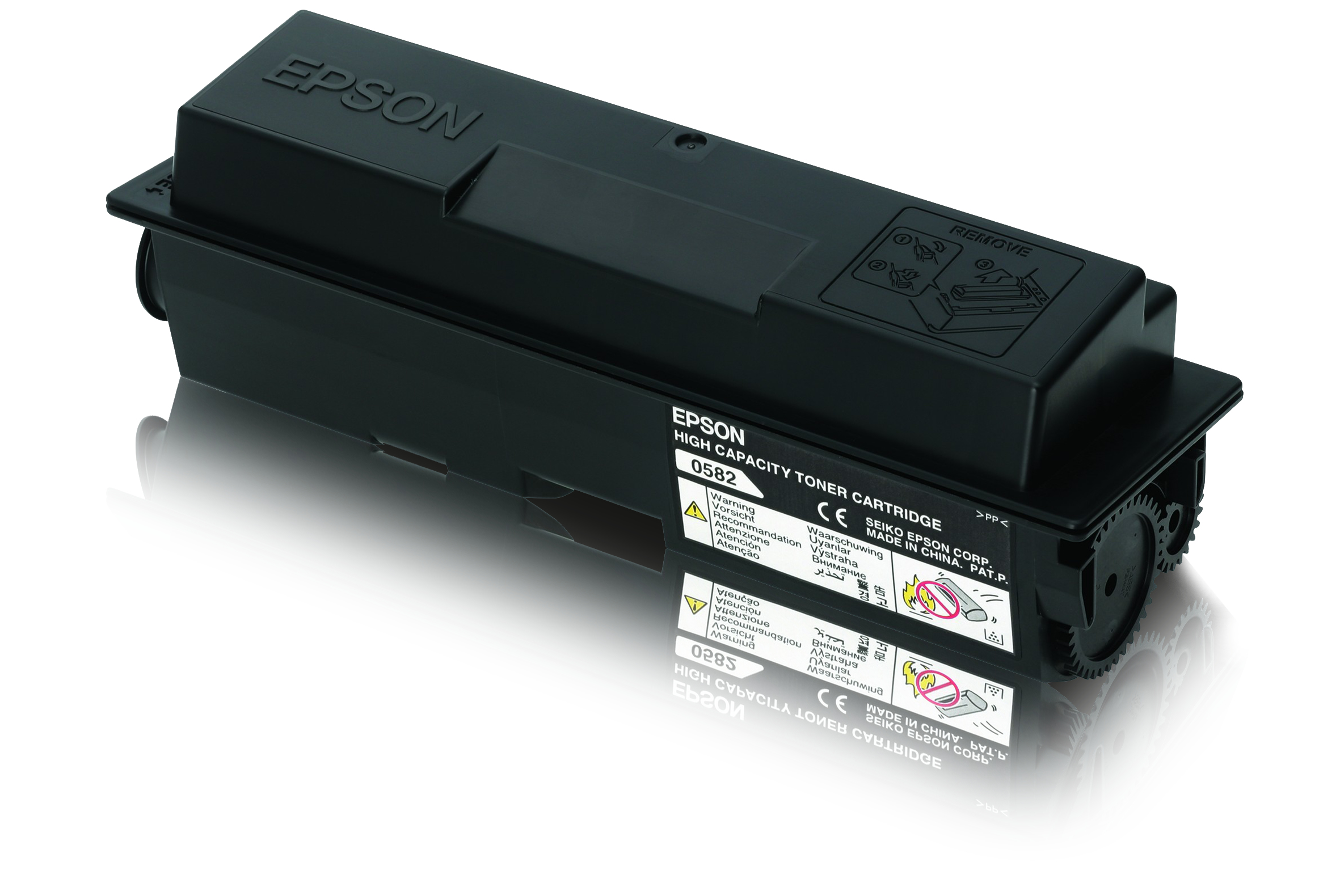 Remanufactured Epson C13S050584 Black Toner C13S050584 - rem01