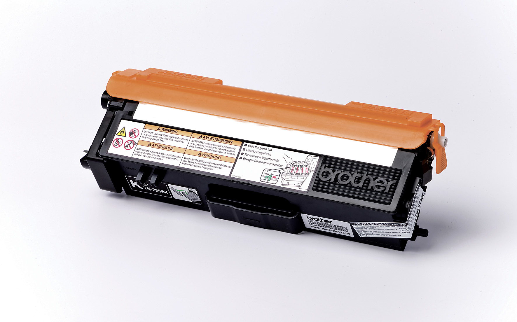 Remanufactured Brother TN325BK Black Toner TN325BK - rem01