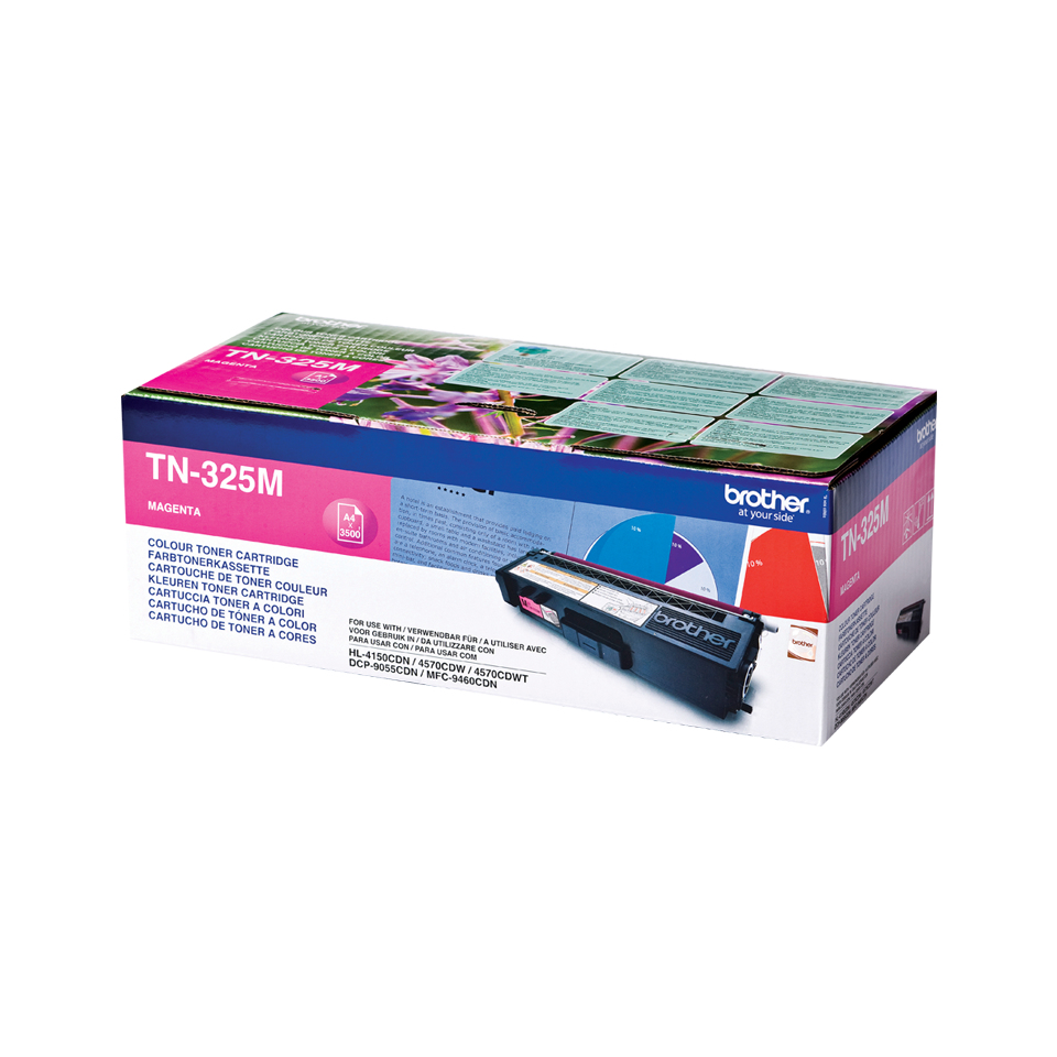 Remanufactured Brother TN325M Magenta Toner TN325M - rem01