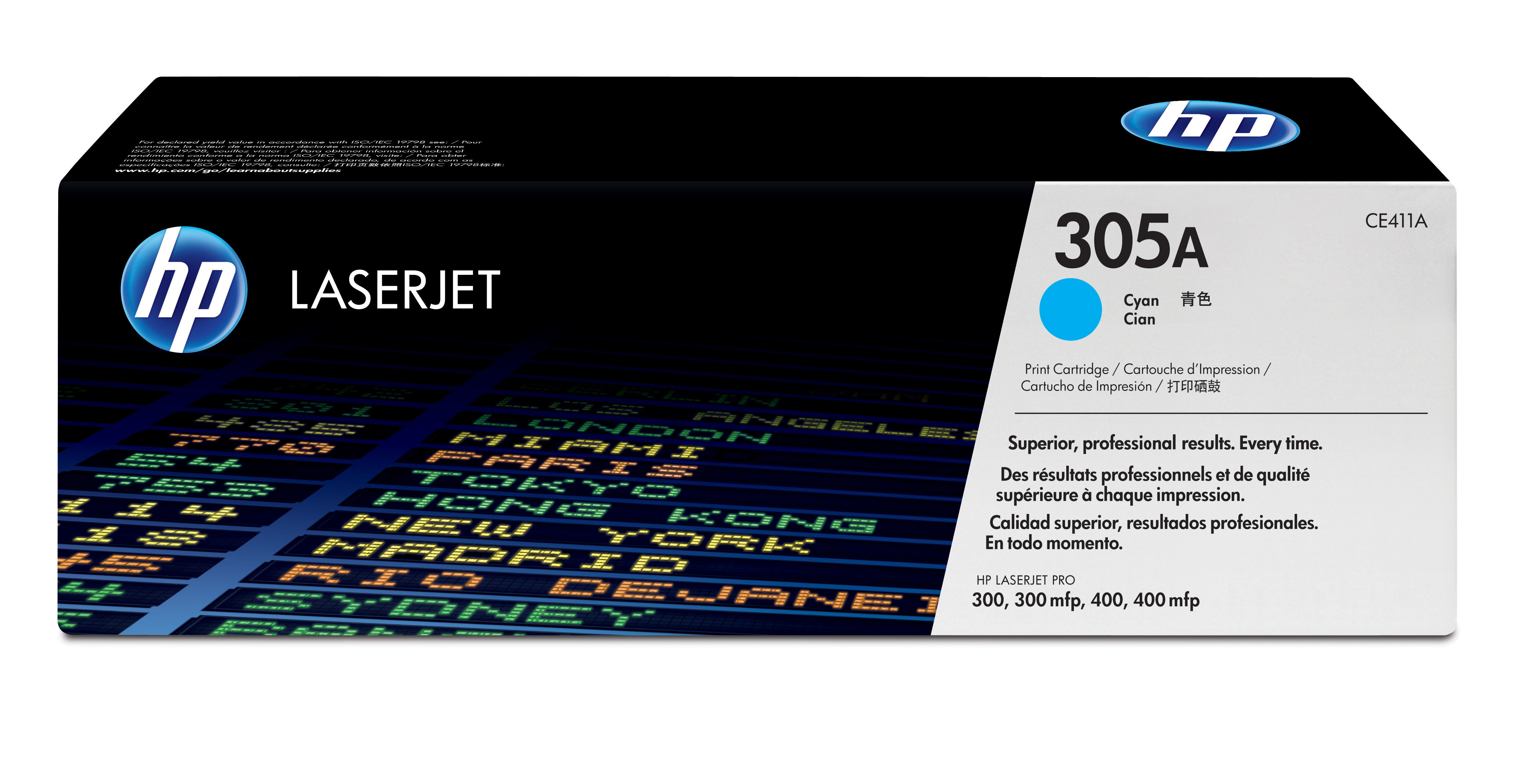 Remanufactured HP CE411A Cyan Toner Cartridge 2.6k CE411A - rem01