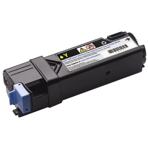 Remanufactured Dell 2150 Yellow Toner Cart 1.4k 593-11037 - rem01