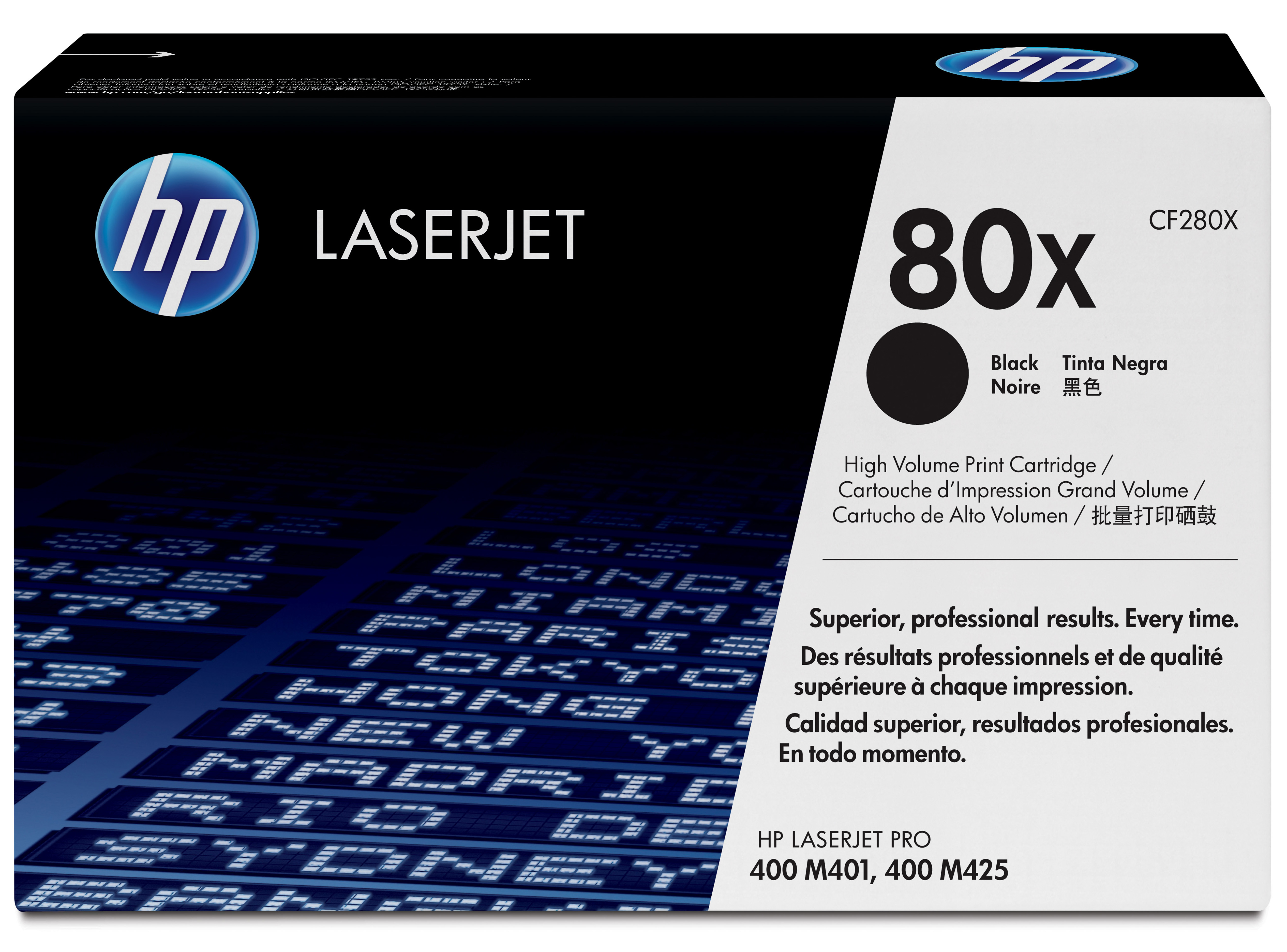 Remanufactured HP CF280X (80X) Black Toner Cartridge 6k8 CF280X - rem01