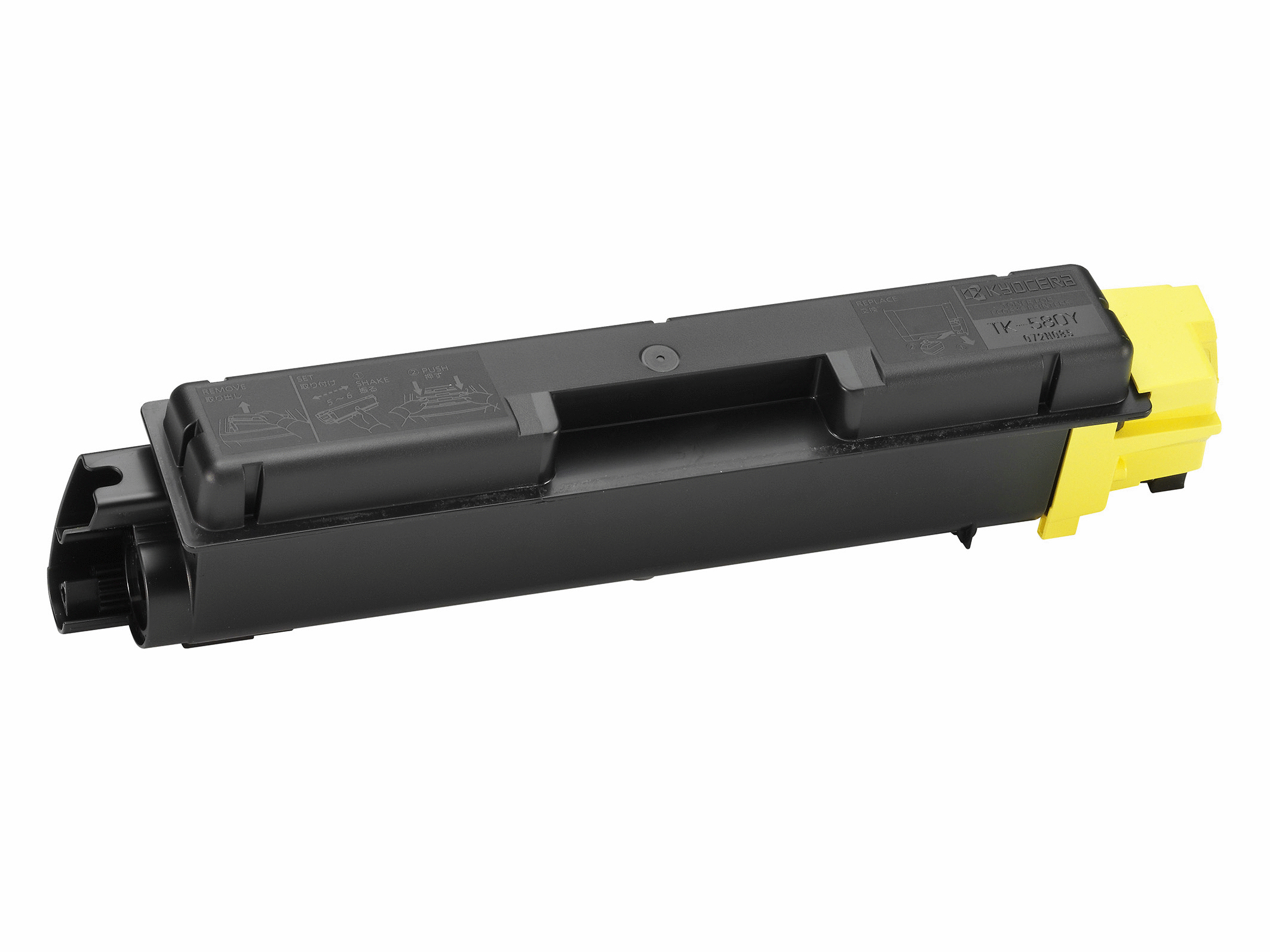 Remanufactured Kyocera TK580Y Yellow Toner Cartridge 2.8k TK580Y - rem01