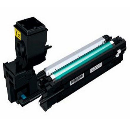 Remanufactured Minolta A0WG07H Yellow Toner Cartridge (5k) A0WG07H - rem01
