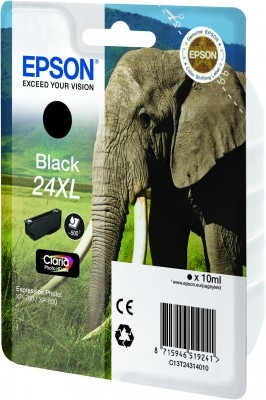 Compat Epson C13T24314010 (24XL) Black Cartridge C13T24314010 - rem01