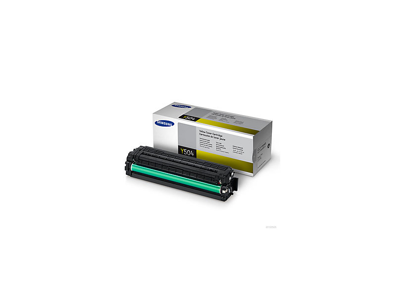 Remanufactured Samsung CLT-Y504S Toner Yellow (1.8k) CLT-Y504S - rem01