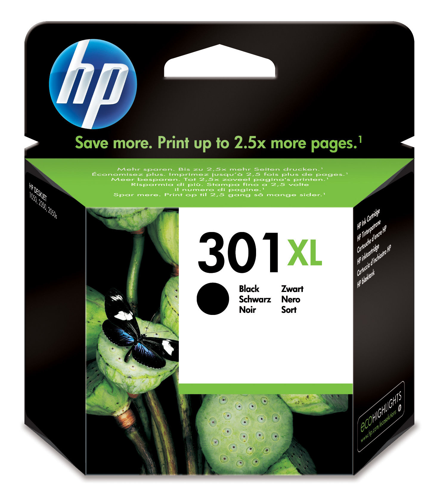 BB Reman HP CH563EE (301XL) Black Ink Cart CH563EE - rem01