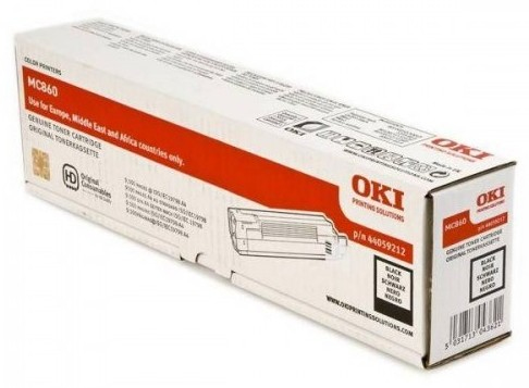 Reman Oki 44059212 Toner Cart Black 9k5 MC860 44059212 - rem01