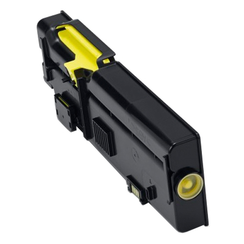 Compat Dell 593-BBBR (YR3W3) Yellow Toner 4k C2660 593-BBBR - rem01