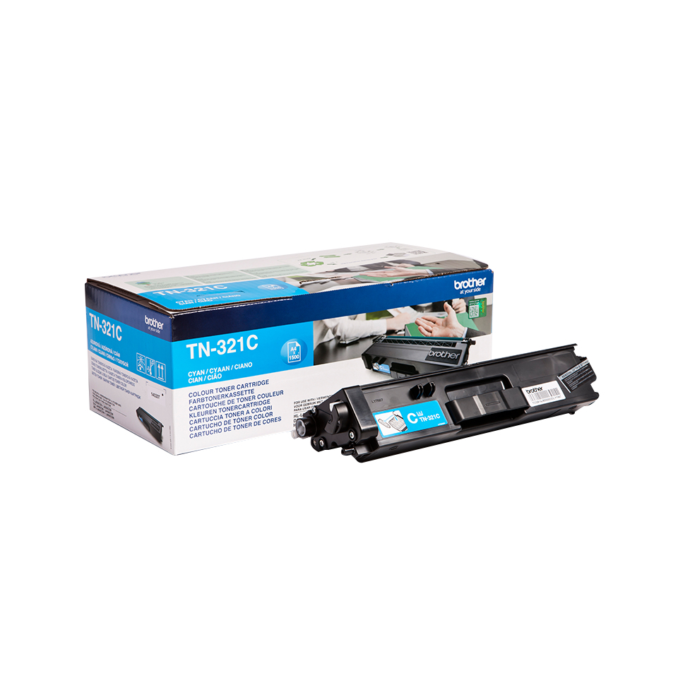Reman Brother TN-321C (TN321C) Cyan Toner Cart TN321C - rem01