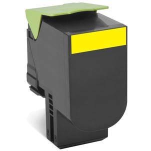 Reman Lexmark 80C2XY0 Yellow Toner Cart 4k 802XY - rem01