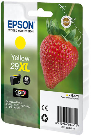 BB Epson C13T29944010 (29XL) Yellow Inkjet Cart C13T29944010 - rem01