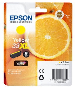 BB Epson C13T33644010 (33XL) Yellow Inkjet Cart C13T33644010 - rem01
