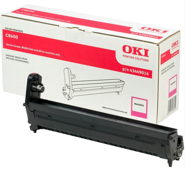 Reman Oki 43449014 Magenta Drum Cart 43449014 - rem01