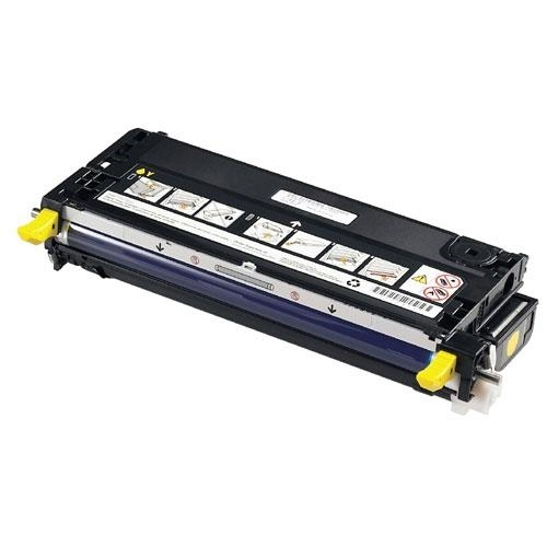 Reman Dell 593-10168 (NF555) Yellow Toner Cart 593-10168 - rem01