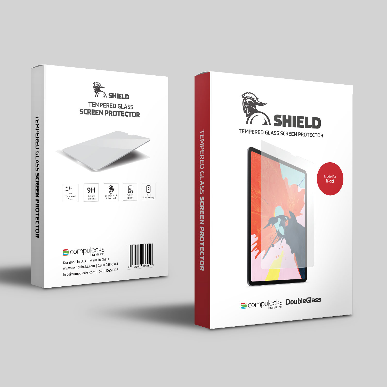 Compulocks                       Armored Tempered Glass Shield       Ipad Pro                            Dgsipdp