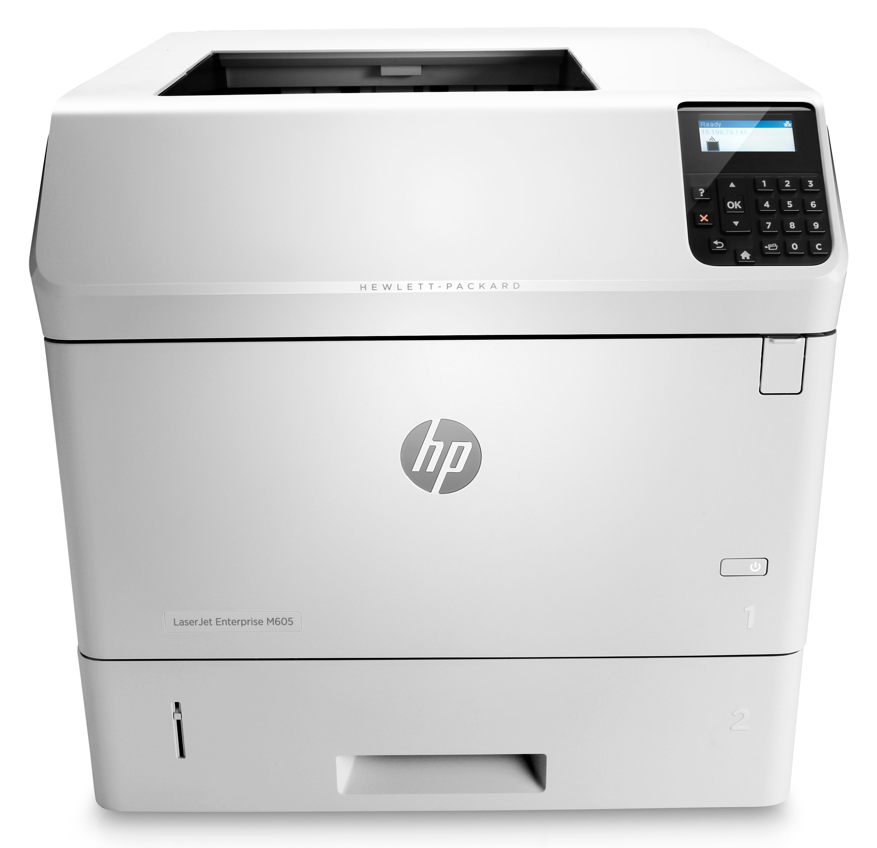 HP LaserJet Enterprise M605n mono printer E6B69A - Refurbished