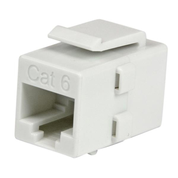 Startech - Cable                 Cat6 Rj45 Coupler White -           Rj45 Keystone Jack Cat.6 F/f        C6keycouplwh