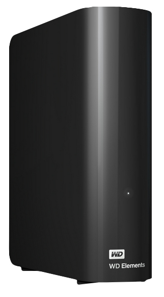 Wd - Ext Hdd Desktop             Elements Black 4tb Uk/eu Plug       Usb 3.0/2.0 3.5in                In Wdbwlg0040hbk-eesn